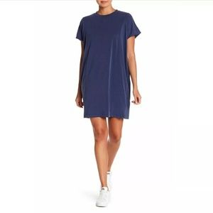 Madewell Sandwashed Jersey T-Shirt Dress New